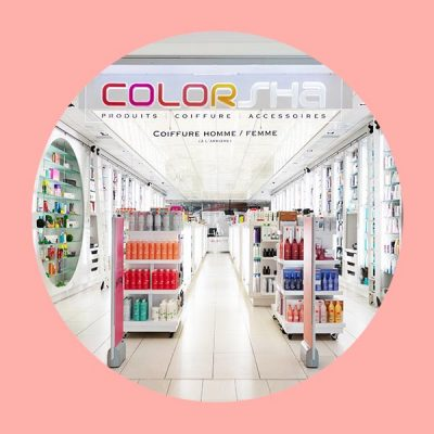 Boutique de produits capillaires Colorsha